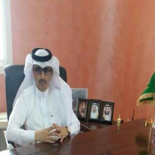 """الأحمري """" يُباشر مهام عمله رئيساً لمركز جمعة ربيعة في مُحافظة #بارق"""