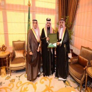 فيصل بن خالد يستقبل مدير #جامعة_الملك_خالد