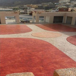 بالصور- بلدية #المجاردة تُنتهي من تهيئية سوق الإثنين الشعبي