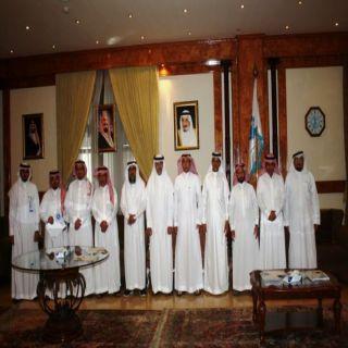 بلدي #جده يستقبل اعضاء ورئيس بلدي منطقة #عسير