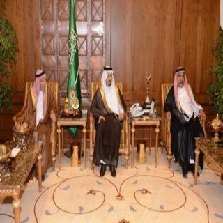 أمير عسير يستقبل أمين عام اللجنة الرئيسية لإصلاح ذات البين