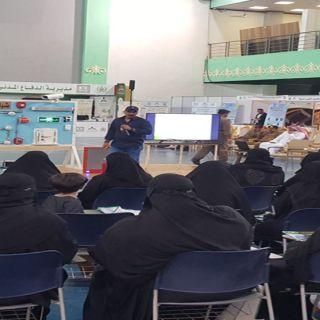 مدني عسير يُنفذ برنامجاً تدريبياً بمقر #جامعة_الملك_خالد لموظفات السلامة