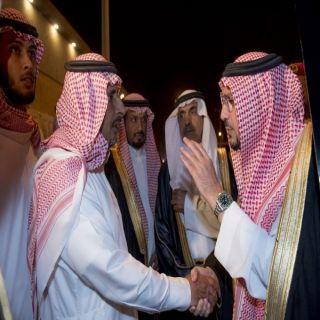أمير منطقة القصيم يعزي ذوي شهيد يوسف المطيري بمحافظة #المذنب