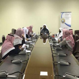 مُدير هيئة الشمالية يلتقي رؤساء الهيئات والمراكز التابعة للفرع