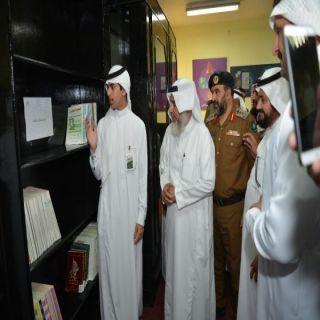 مُدير #تعليم_النماص يفتتح مركز للبحوث العلمية بثانوية الملك عبد العزيز