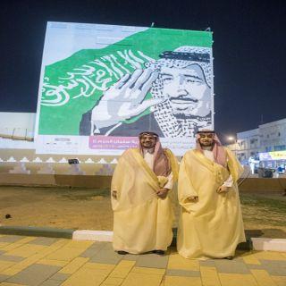"""أمير القصيم يُدشن أكبر جدارية تحمل اسم """"جدارية سلمان الحزم """""""