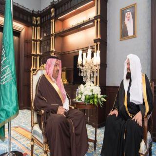 أمير الباحة يستقبل الرئيس العام لهيئة الأمر بالمعروف والنهي عن المنكر