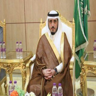 محافظ #بارق يُعزي القيادة وامير عسير في وفاة الأمير بندر بن خالد