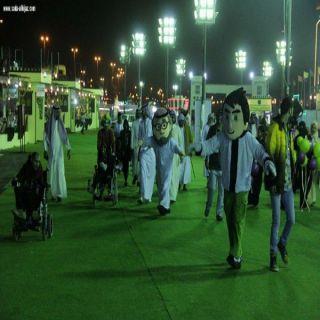 أكثر من ٤٠٠٠ منتج عائلي  للزوار الخيمة التسويقية في #جدة