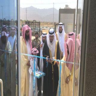 مُحافظ #بارق يفتتح مبنى هيئة الأمر بالمعروف والنهي عن المنكر