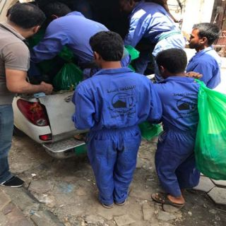 بلدية #محايل تُصادر 80 كج لحوم مجهولة ضُبطت في سكن عمالة