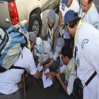 """متدربو التأسيسية في #محايل ينفذون """"رحلة خلوية"""""""