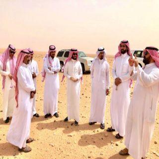 رئيس بلدية #العويقيلة ورئيس واعضاء المجلس البلدي في زيارة ميدانية للمُحافظة