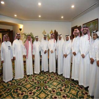 نائب أمير عسير يلتقي أعضاء مجلس إدارة الغرفة التجارية بأبها