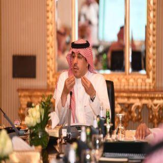 الوزير العواد يترأس الإجتماع الأول لمجلس إدارة الهيئة العامة للثقافة