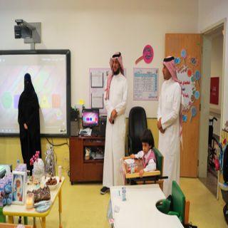 المجلس التنسيقي للجمعيات الخيرية يزور الأطفال المعوقين بعسير