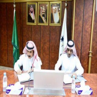 توقيع مذكرت تفاهم بين #جامعة_نجران وفرع جمعية الجودة السعودية في المنطقة
