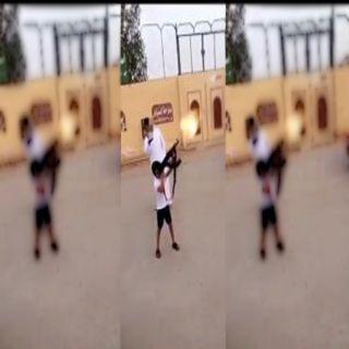 القبض على والد طفل ظهر في مقطع فيديو يُطلق اعيرة ناري شرق الرياض