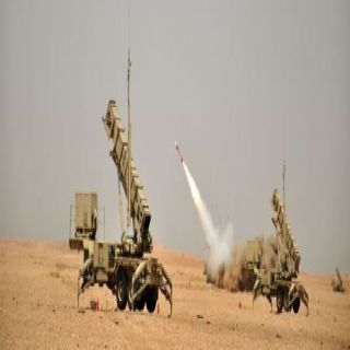 قوات الدفاع الجوي السعودي تُدمر صاروخ بالستي اطلق من الأراضي اليمينة بإتجاه السعودية