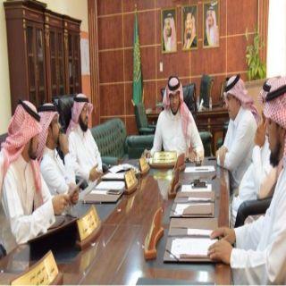 بلدي #بارق يعقد جلسته (33) ويناقش ترتيبات شهر رمضان المبارك