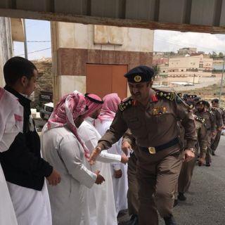 """مُدير الدفاع المدني في #الباحة ينقل تعازي القيادة لذوي """"البيصي"""""""