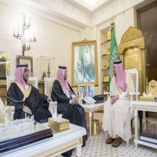 أمير القصيم يستقبل الشهراني لتكليفه مديراً لفرع صندوق التنمية العقارية بالمنطقة