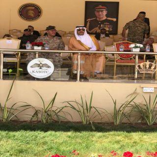 السفير السعودي في الاردن يرعى افتتاح مسابقة المحارب الدولية