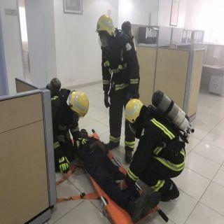 فرضية الدفاع المدني تُخلف إصابتين وحالة وفاة في وحدة الكهرباء ببلجرشي