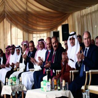 سفير المملكة لدى #الأردن يفتتح مستشفى الأميرة بسمة الجديد في اربد