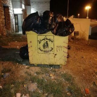 بالصور - تراكم النفايات في ثلوث المنظر والأهالي الوضع لايُحتمل