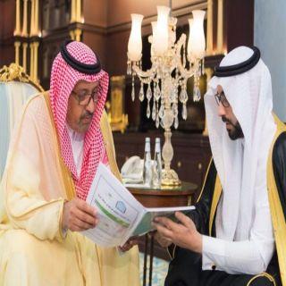 أمير الباحة يتسلم تقريراً مفصلاً عن أنشطة المعهد العلمي بـ #الباحة