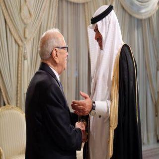 #وزير_التعليم يزور تونس والرئيس التونسي في إستقباله
