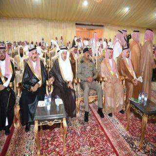 أمير عسير وسمو نائبه يشرفان حفل أسرة آل حامد بعلكم