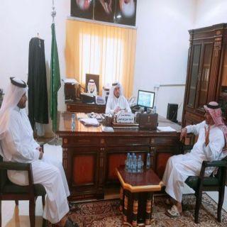 بحضور رئيس البلدية محافظ #بارق يستقبل أعضاء الغرفة التجارية  بأبها