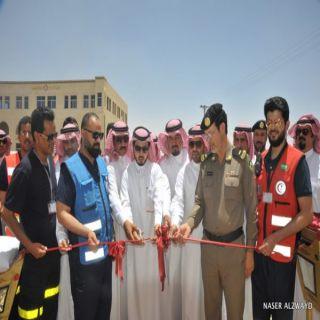 د القحطاني يدشن مركز الجمش  (السادس بمنقطة الرياض خلال شهرين الماضيين )