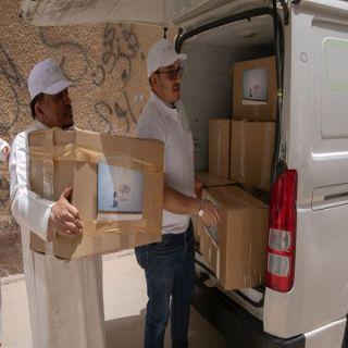 """#السعودية_للكهرباء"""" تشارك في تجهيز مليون وجبة إفطار صائم وتوزع (2000) سلة رمضانية"""