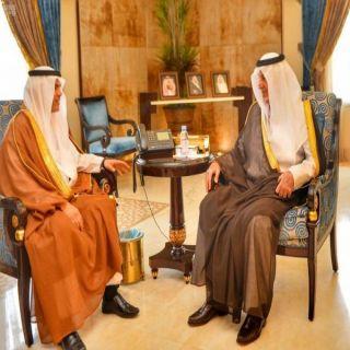 أمير مكة يستقبل رئيس القطاع الغربي لشركة الكهرباء بعد إحالته للتقاعد
