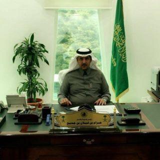 رئيس بلدية بللسمر يتلقى خطاب شكر من أمين منطقة عسير