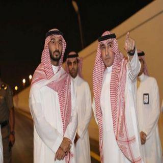 نائب أمير منطقة مكة يقف على افتتاح نفق الأندلس في #جدة
