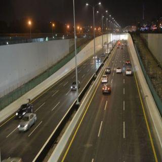 #أمانة_جدة تفتتح نفق تقاطع طريق الملك عبد العزيز مع شارعي فلسطين والحمراء
