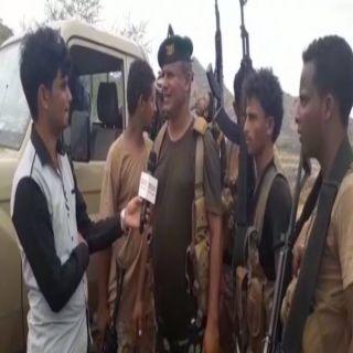 الجيش الوطني اليمني مسنودا بالتحالف العربي يطهر منطقة حرض بالكامل