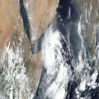 الأرصاد العاصفة المدارية( (MEKUNU)) قد تؤثر على أجزاء من المملكة