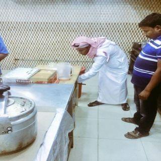 جولات رقابية مكثفة لبلدية #محايل خلا شهر رمضان