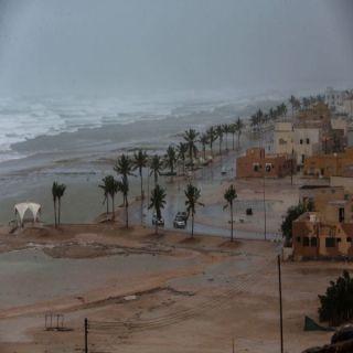 صلاله في عُمان تُسجل أعلى مُعدل امطار في العالم