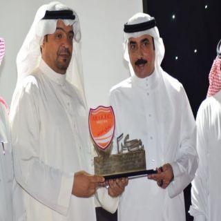 شاهد- إدارة نادي عرعر الرياضي تحتفل  بأبطال الصعود في دوري الدرجة الثانية