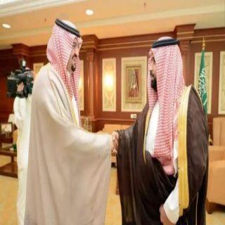 نائب أمير #جازان يستقبل أمين المنطقة المعين