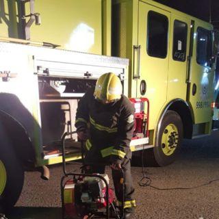 شاحن جوال يتسبب في حريق شقة سكنية بحي النميص في #أبها