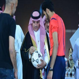 فريق الوجيعان من بريدة يحصد لقب بطولة بلدية عنيزة السابعة