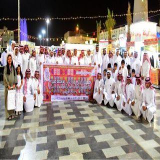 مهرجان ليالي رمضان في #عنيزة يُسجل رقماً قياسياً في اعداد الزوار