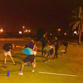 الشميمر والعقيلي يُطلقان مُبادرة التمارين الرياضية الرمضانية في #البكيرية